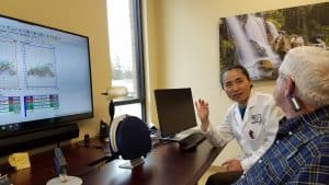Dr.Li and Patient