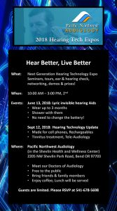 Hearing Tech Expo Seminars
