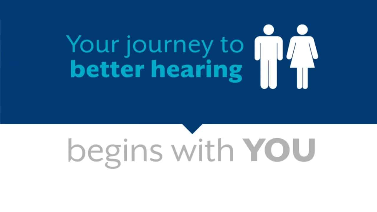Your journey to better hearing begins with you