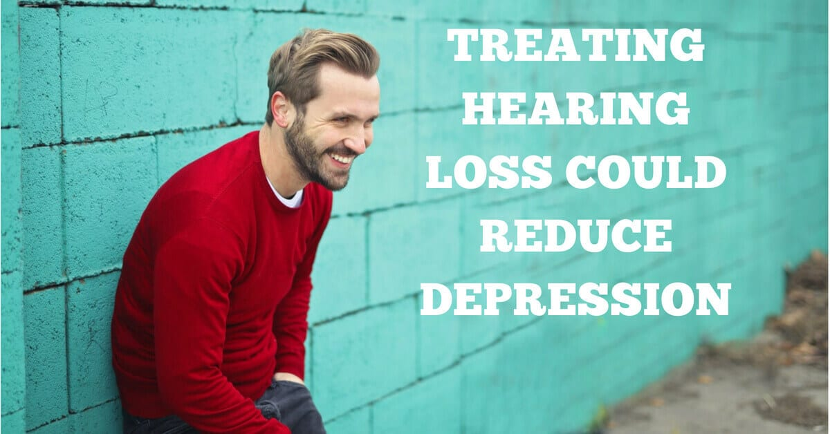 Treating Hearing Loss Could Reduce Depression