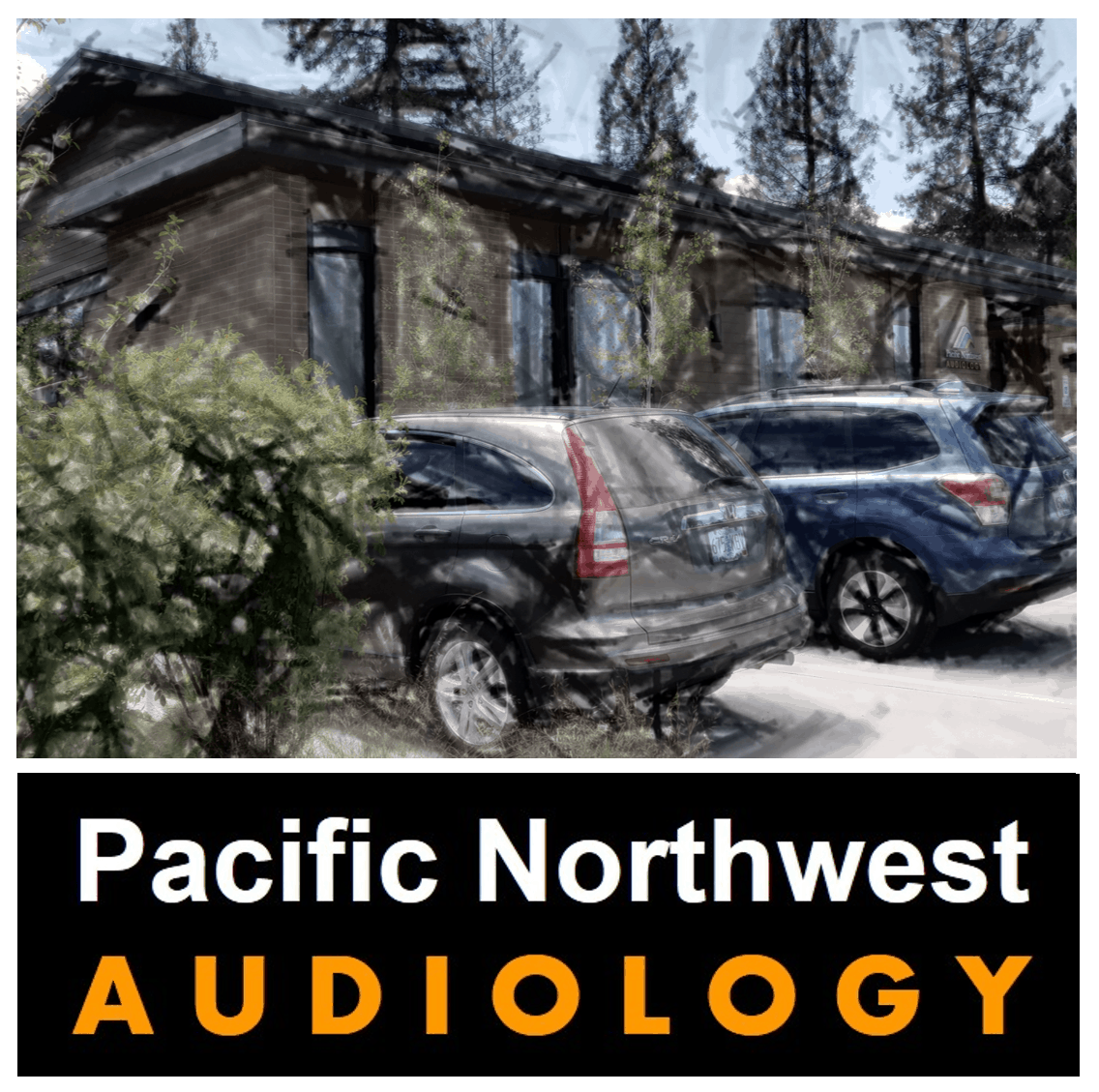 Office Parking Lot Of Pacific Northwest Audiology